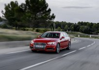 rotes Audi, Weg